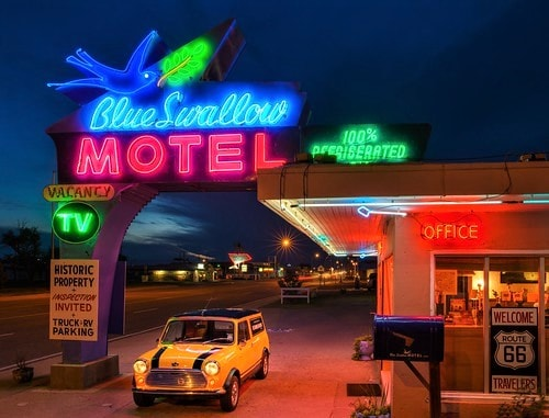 Blue Swallow Motel in Tucumcari is under contract