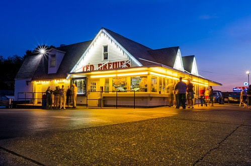 Ted Drewes Frozen Custard in St. Louis will temporarily close today