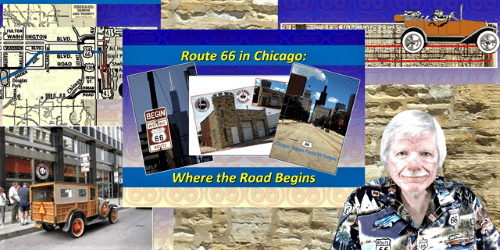 David Clark will host a Zoom talk Aug. 6 about Route 66 in Chicago