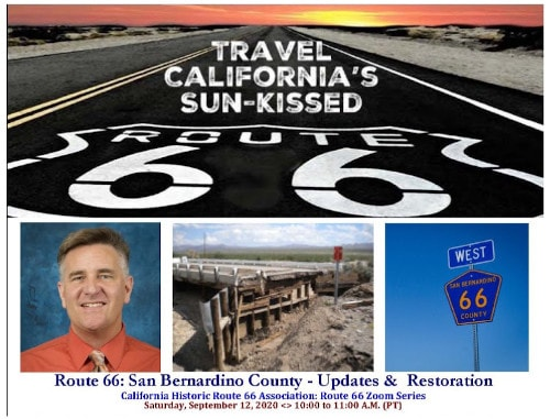California Historic Route 66 Association will host Zoom conference about bridge repairs, COVID-19