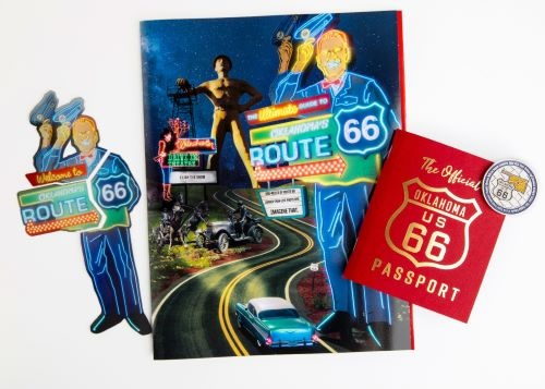 New Oklahoma Route 66 Passport, guide available from Oklahoma Tourism