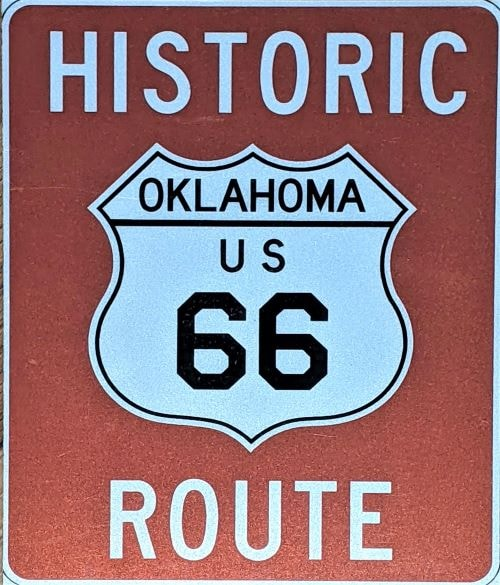 More details emerge on new Route 66 directional signs for Oklahoma