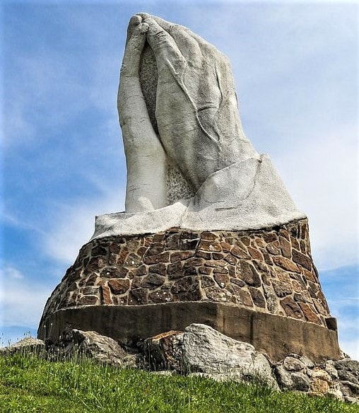 Praying Hands Monument in Webb City to undergo extensive renovations