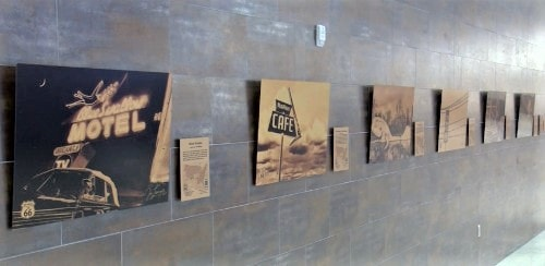 Jim Livingston's Route 66 art featured at Amarillo's airport