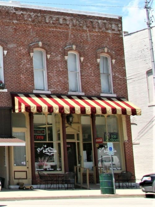 Doc's Soda Fountain in Girard is up for sale