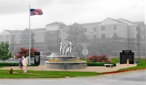 Route 66 Veterans Plaza planned in Bethany by November 2022