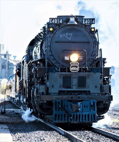 Big Boy locomotive will make several stops in Route 66 towns in Missouri, Oklahoma