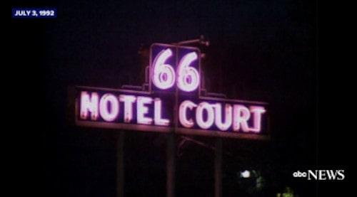 """Take a look at ABC's """"Nightline"""" feature on Route 66 in 1992"""
