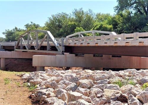 Captain Creek Bridge in Wellston is reopened after reconstruction