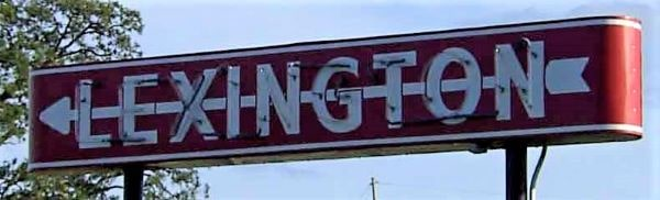 Neon sign just outside Lexington marks its 75th anniversary