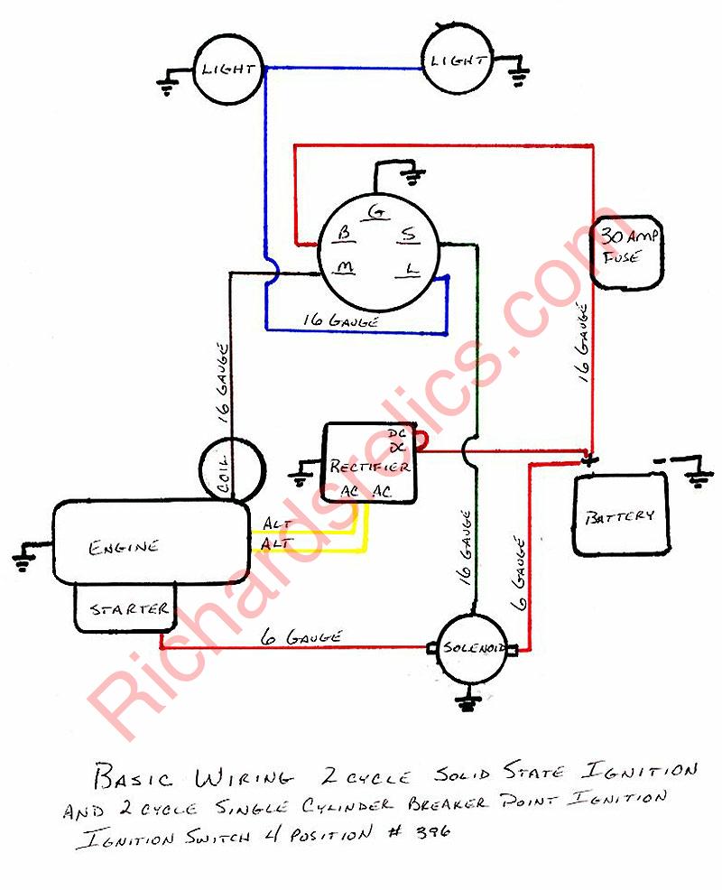 5 prong key switch wiring