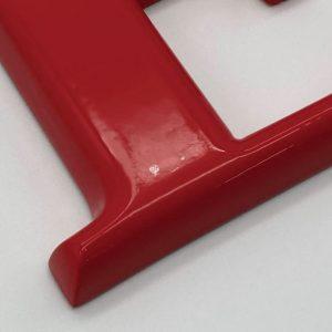 ABS樹脂 - R面取り