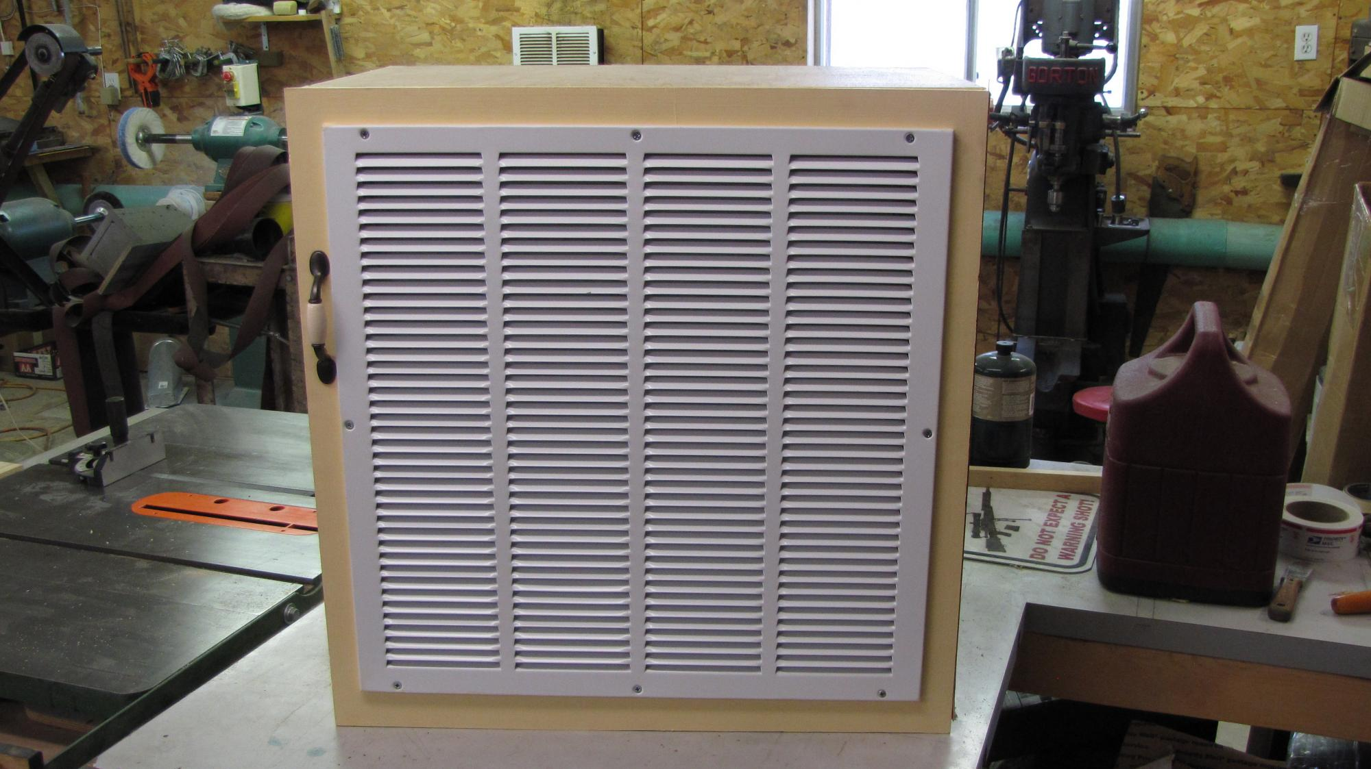 Furnace Filter Cold Air Return Box And Top