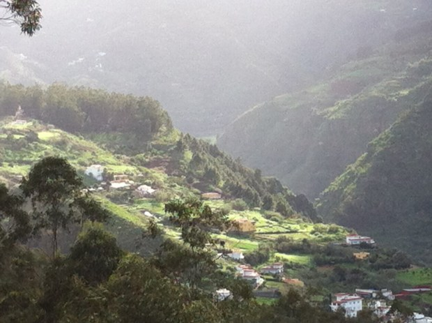 Mountain View near Firgas, Gran Canaria