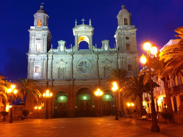 The Cathedral of Santa Ana, Las Palmas old town