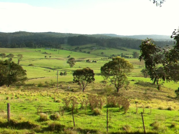 Countryside of Australia's South East Coast