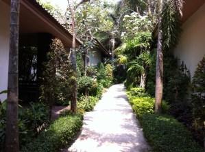 Hotel garden, Ko Samet