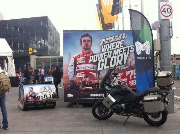 Melbourne preparing for the Australian Grand Prix
