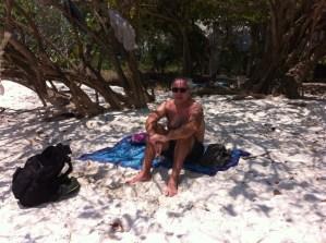 Relaxing in the shade, Ao Wai, Ko Samet