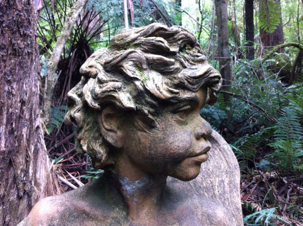 A statue at William Ricketts Sanctuary, Dandenong Ranges