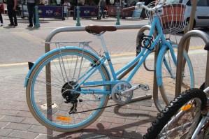 A bike on Bondi Beach