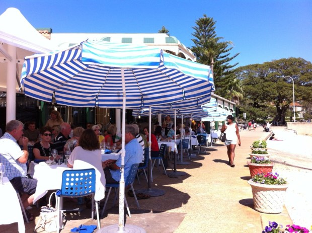 Watsons Bay fish restaurant, Sydney