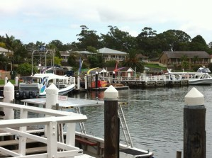 Huskisson harbour, Jervis Bay