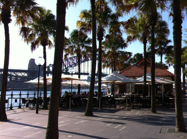 Sydney walking itinerary: Circular Quay