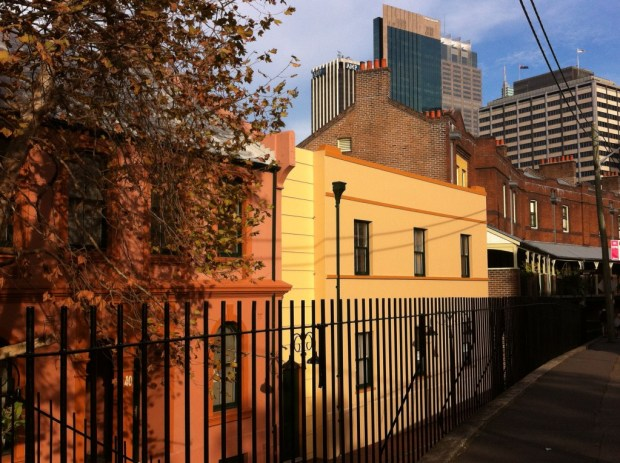 Sydney walking itinerary: the Rocks