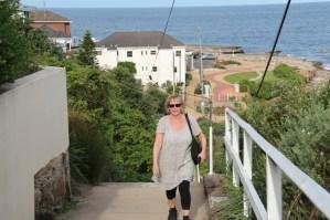 Walking the Bondi to Coogee coastal walk