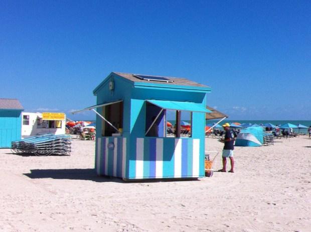 Miami beach Caribbean colors