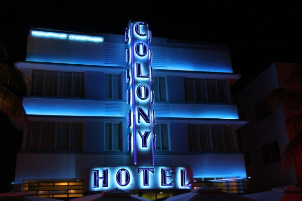 Colony Hotel, one of the jewels of Miami Beach