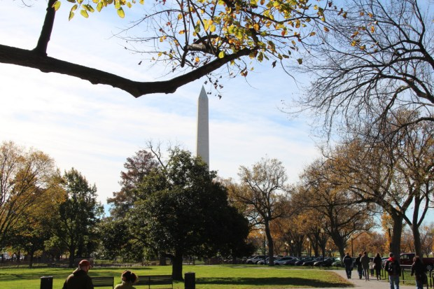 Washington Monument, National Mall walking itinerary