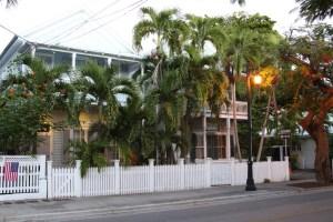 A street in Key West