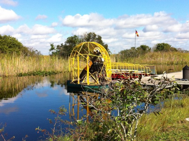 Miccosukee Indian Restaurant Airboat rides