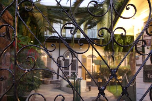 Gate of Hemingway Home, Key West