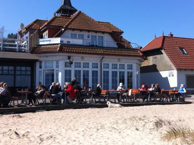 A restaurant by Bzezno pier, Gdansk
