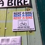 Bike rental in Gdansk