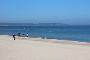 Bzezno beach