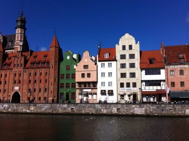 Historic Gdansk from the Motlawa River