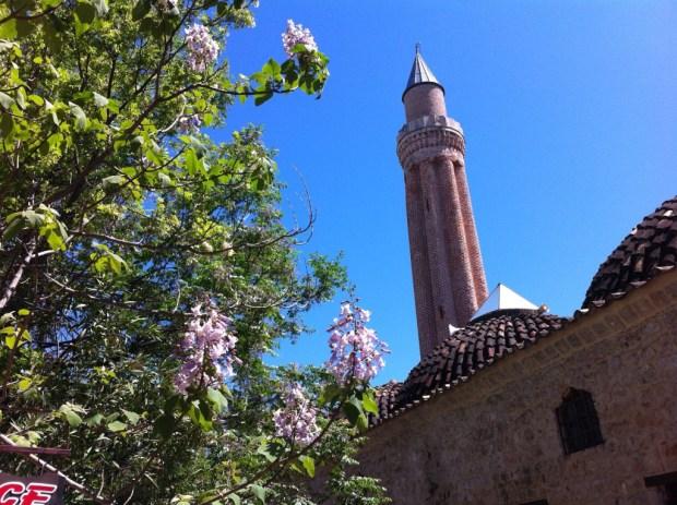 Fluted Minaret, Antalya Old Town