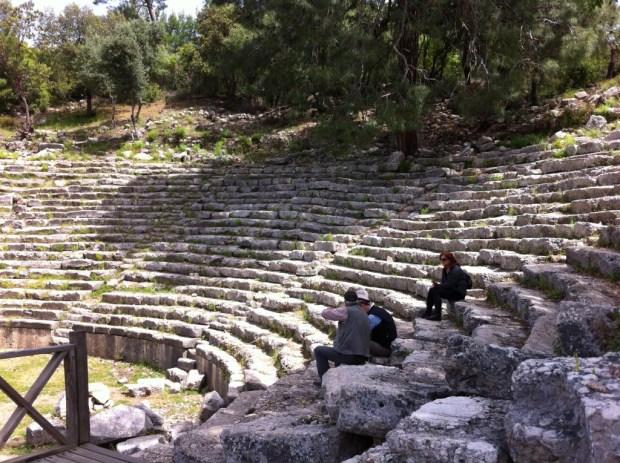 Theatre, Phaselis Ruins, Turkey