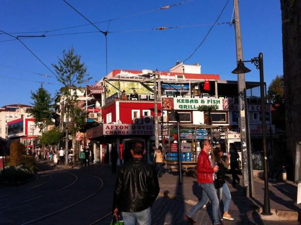 Antalya's shopping zone