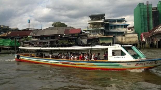 Bangkok by river boat