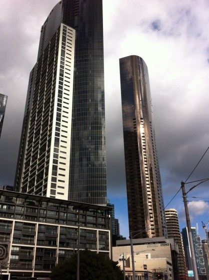 Yarra River walk, the Crown Complex