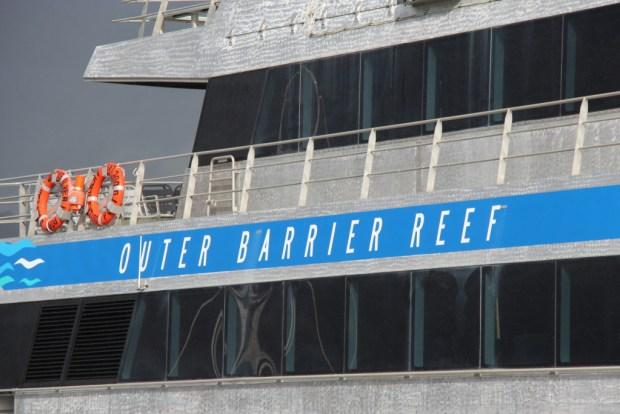 Quicksilver to Agincourt Reef