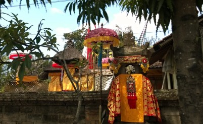 A temple in Bali
