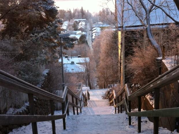 Pispala stairs, Tampere