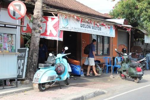 Street life in Bali