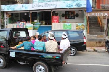 Traffic in Bali